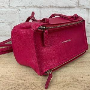💕 Givenchy Pandora Fuchsia Mini Crossbody Bag